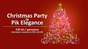 Christmas Party la PikElegance - VEZI OFERTA